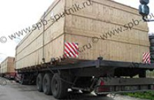 Transportation of industrial plants